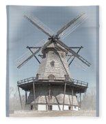 Historic Windmill Fleece Blanket