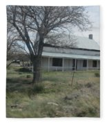 Historical Concho House Fleece Blanket