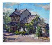 Historical House Ontario Fleece Blanket