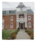 Historical Mormon House Fleece Blanket