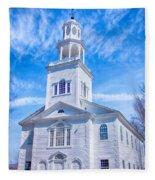 Historical Old First Church Fleece Blanket