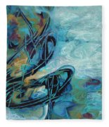 Hither And Thither Fleece Blanket