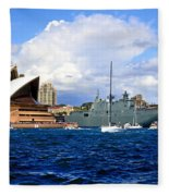 Hmas Adelaide Helps Sydney Celebrate Fleece Blanket