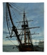 Hms Surprise Fleece Blanket