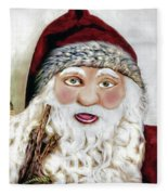 Ho Ho Ho Fleece Blanket