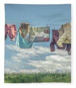 Hobbit Clothes Fleece Blanket