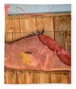 Hog Fish 02 Fleece Blanket