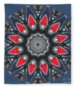 Valkyrie Kaleidoscope 2 Fleece Blanket