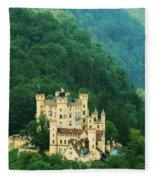 Hohenschwangau Castle 1 Fleece Blanket