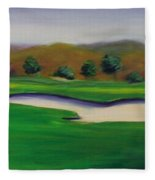 Hole 1 Great Beginnings Fleece Blanket