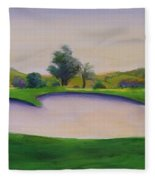 Hole 2 Nuttings Creek Fleece Blanket
