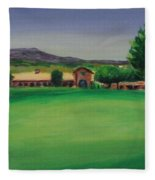 Hole 9 Entrapment Fleece Blanket