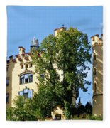Holenschwangau Castle 2 Fleece Blanket