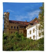 Holenschwangau Castle 3 Fleece Blanket