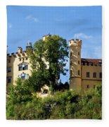 Holenschwangau Castle 4 Fleece Blanket