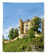 Holenschwangau Castle 5 Fleece Blanket