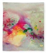 Holi-colorbubbles Abstract Fleece Blanket