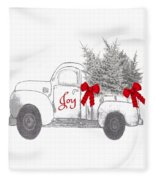 Holiday Joy Chesilhurst Farm Fleece Blanket