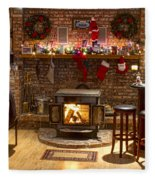 Holiday Spirit Fleece Blanket
