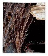 Holiday Wonderland Of Lights 2 Fleece Blanket