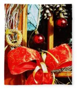 Holidays Are Coming  Fleece Blanket