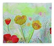 Holland Tulip Festival II Fleece Blanket