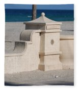Hollywood Beach Fleece Blanket