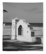 Hollywood Beach Wall Fleece Blanket