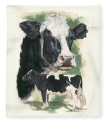 Holstein Fleece Blanket