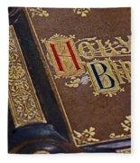 Holy Bible Fleece Blanket