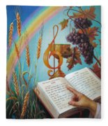 Holy Bible - The Gospel According To John Fleece Blanket