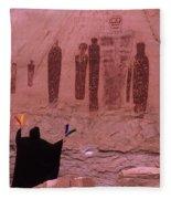 Holy Ghost Petroglyph Into The Mystic Fleece Blanket