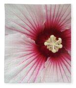 Holy Hibiscus Fleece Blanket