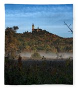 Holy Hill In Fall Fleece Blanket