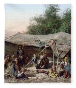 Holy Land: Bedouin Camp Fleece Blanket