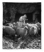 Holy Land: Shepherd, C1910 Fleece Blanket