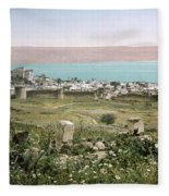 Holy Land: Tiberias Fleece Blanket