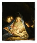 Holy Night Fleece Blanket