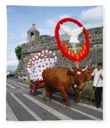 Holy Spirit Festivities Fleece Blanket