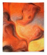 Holy Spiritual Ecstasy. Fleece Blanket