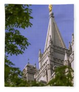 Holy Temple Fleece Blanket