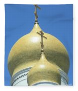 Holy Virgin Cathedral In San Francisco Fleece Blanket