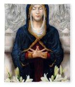 Holy Woman Fleece Blanket