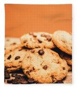Home Baked Chocolate Biscuits Fleece Blanket