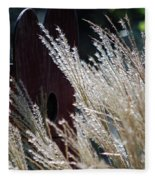 Home Behind The Grass Fleece Blanket