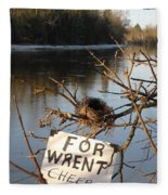 Home By Water For Wrent Cheep Fleece Blanket