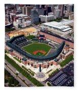 Home Of The Orioles - Camden Yards Fleece Blanket