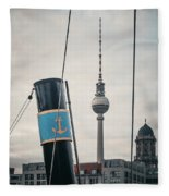 Home Port Berlin Fleece Blanket