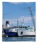 Home Port Fleece Blanket