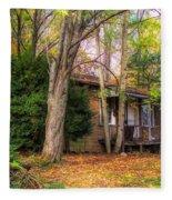Home Sweet Home 1945 Fleece Blanket